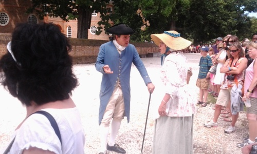 36. Colonial Williamsburg - historical reenactement part 1