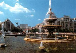 Bucharest-fountain